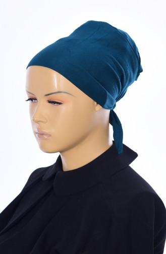 Sefamerve Bonnet Sans Couture Grande Taille 34 Pétrole 34