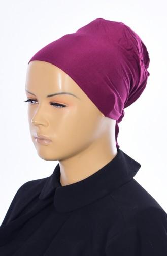 Sefamerve Bonnet Sans Couture Grande Taille 38 Plum Clair 38