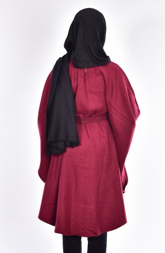 Claret red Poncho 17601-03