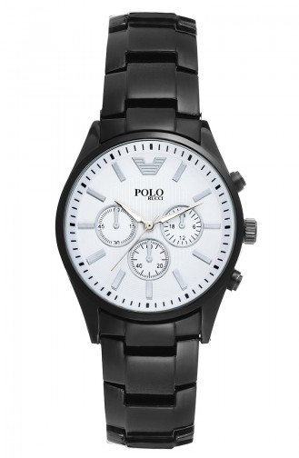 Polo Rucci Wrist Watch PRBH1986LC Black 1986LC
