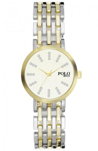 Polo Rucci Montre RRBG17010 Argent Jaune 17010