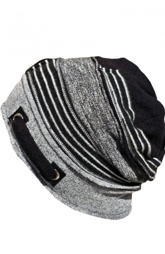 Şapka-Bere NS130 Gri-Siyah 130