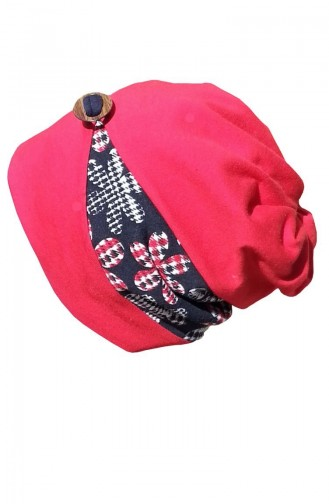 Hat-Beret NS144 Red 144
