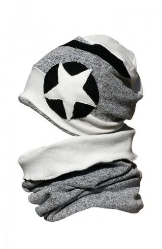 Hat Neck Collar Suit NSB20 Black Gray 20
