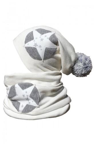 Ecru Hat and bandana models 21