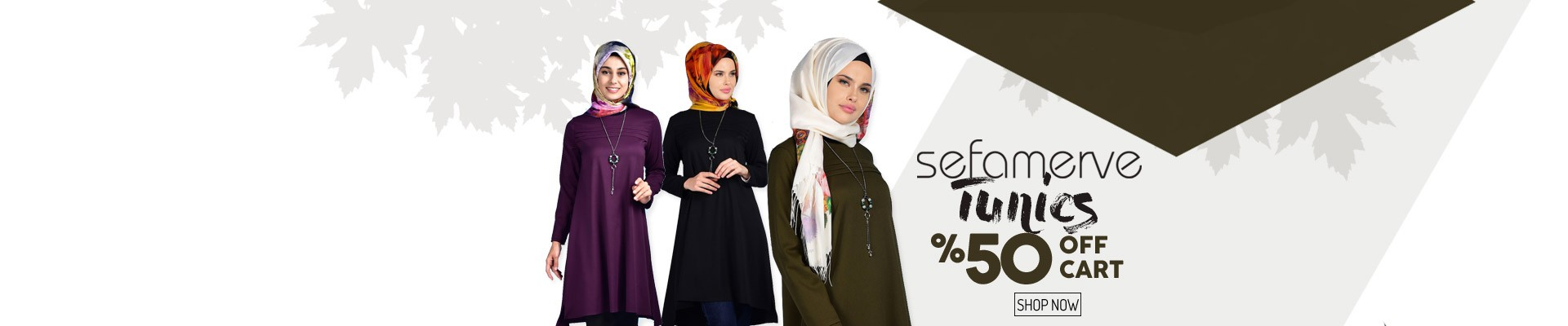 On Sefamerve Tunics %50 Discount of Cart