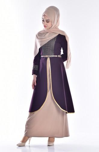 Purple Dress 5002-02