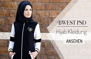 Bwest SVD Hijab Kleidung