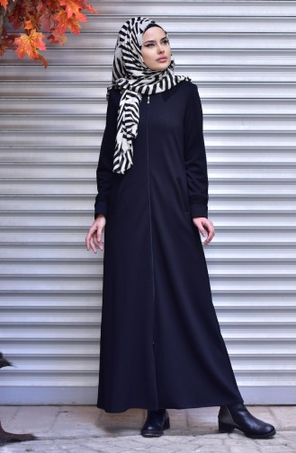 Black Abaya 2420-01