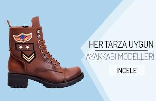 Her Tarza Uygun Ayakkabı Modelleri