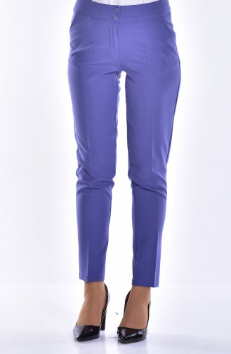Pantalon Simple 1002-14 Lila 1002-14
