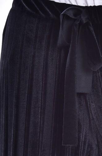 Pantalon Velours Plissé 2501-06 Noir 2501-06