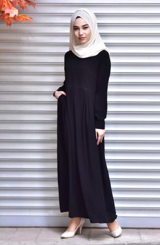 فستان أسود 1127B-01