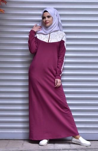 Cherry İslamitische Jurk 1508-05