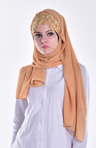Mustard Ready to wear Turban 04