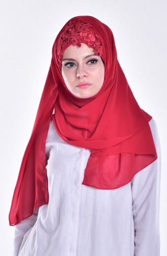 Red Ready to wear Turban 05