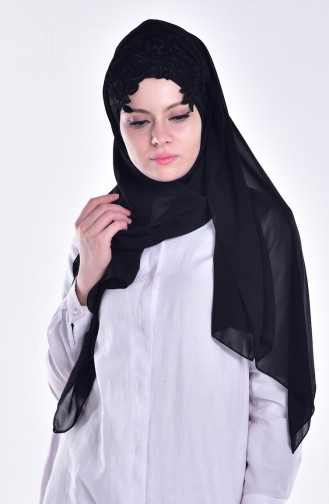 Black Ready to wear Turban 07