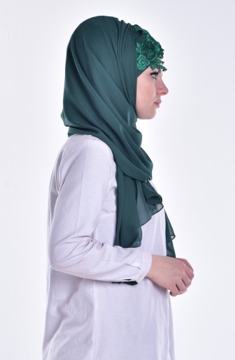 Emerald Ready to wear Turban 08