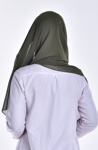 Châle Bonnet Lacé 0010-15 Vert Khaki 15