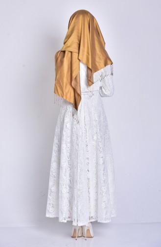 Robe Hijab Ecru 3161-05
