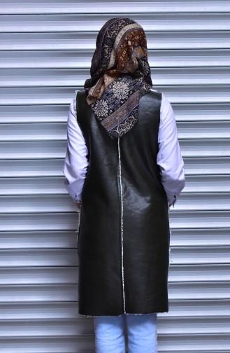 Khaki Vest 8501-01