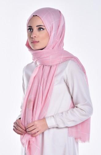 Light Pink Sjaal 03