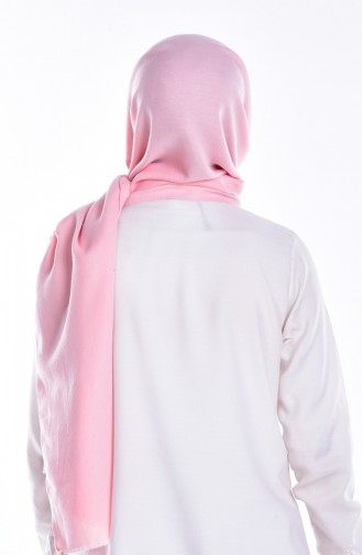 Viskose Schal 70046-10 Helles Pink 10