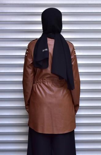 Tobacco Brown Jacket 4539-01