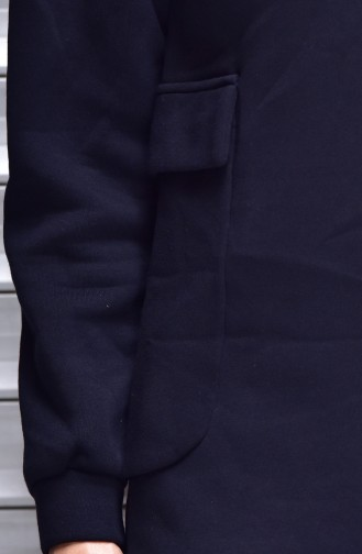Navy Blue Tuniek 1242-01