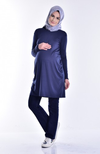 Navy Blue Tunic 0637-03