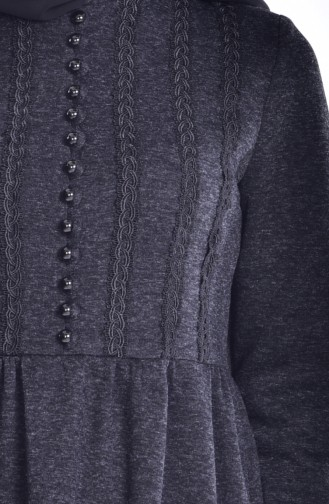 فستان بتفاصيل من الدانتيل  0150-02