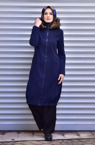 Navy Blue Cape 1227-06