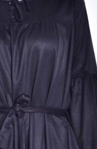 Black İslamitische Jurk 7554-01