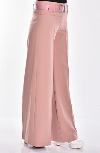 Pantalon Hijab 3069-22 Rose Pâle 3069-22