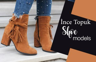 İnce topuk Shoe Models