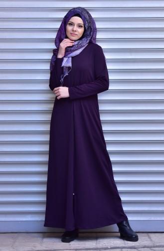 Purple Abaya 0005-02