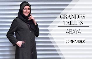 Abaya Modèles Grandes Tailles