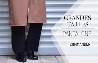 Pantalons Grandes Tailles