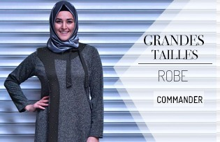 Robes Hijab Grandes Tailles