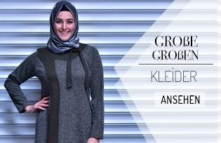 Große Größen Hijab Kleider