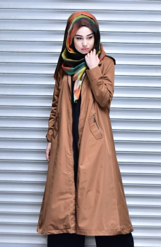 Tobacco Brown Raincoat 35798-03