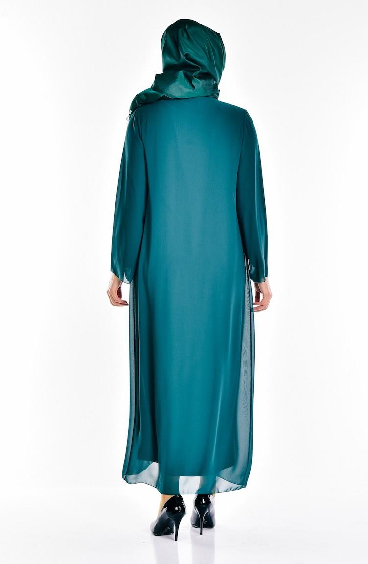 d364fbcc56982 Emerald Islamic Clothing Evening Dress 5919-03