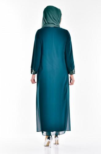 فستان بتصميم من الترتر  2180-02