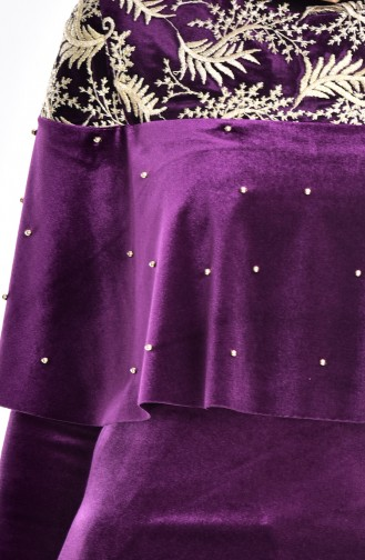 Purple Dress 7011-06