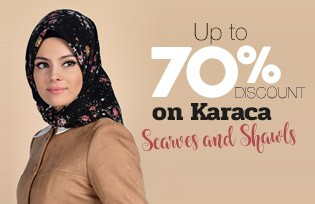 Up to 70% Discount on Karaca Scarves and Shawls