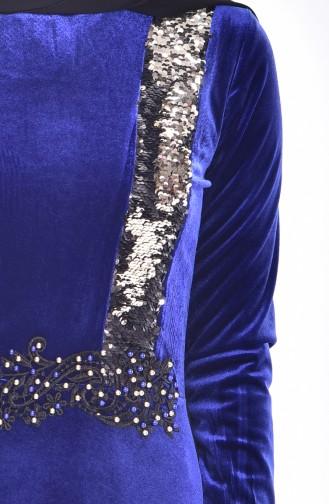 Saxon blue Dress 9012-05