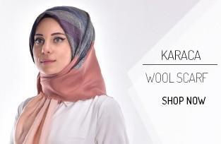 Karaca Yün Eşarp 90390