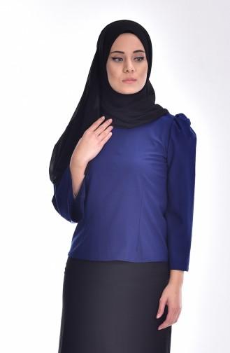 Saxon blue Blouse 0028-02