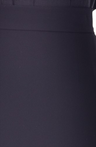 Bleistiftsrock 0902-01 Schwarz 0902-01