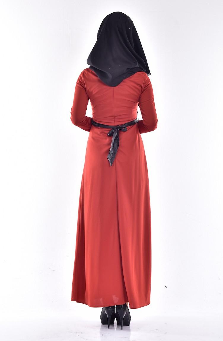 Tarçın renkli kıyafet modelleri